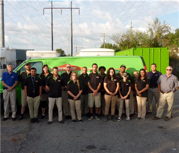 SERVPRO Chesapeake South Product Crew