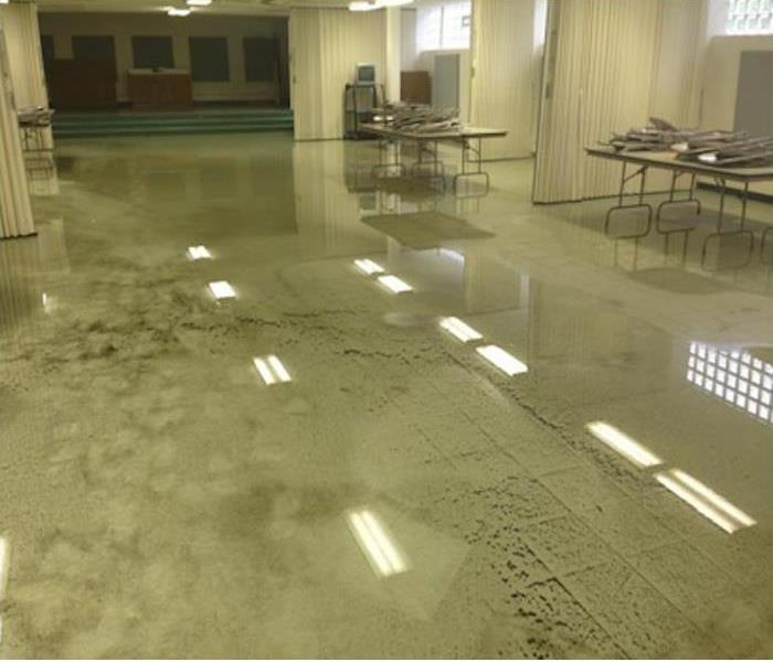 School Cafeteria Floods in Chesapeake