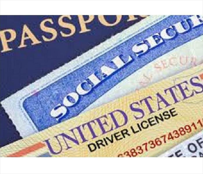 Passport, A Social Security Card and A Driver
